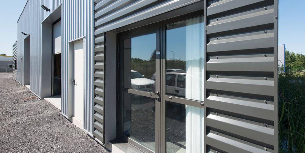 Atcm batiment m tallique charpente bardage - Bardage metallique facade ...